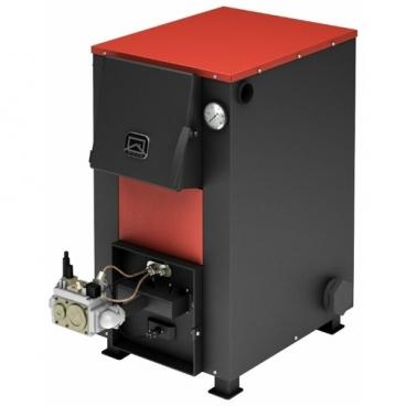Комбинированный котел Теплодар Куппер ОВК 10 с газовой горелкой 13 кВт одноконтурный