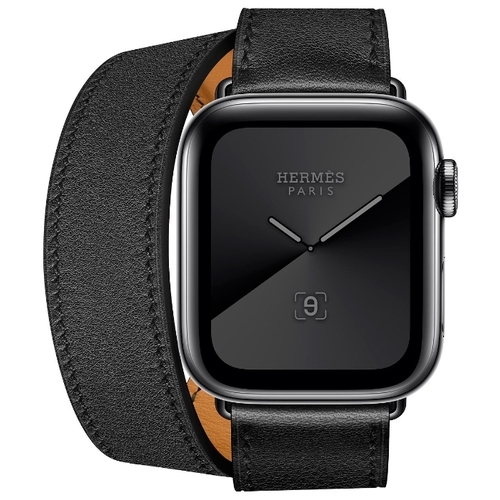 Часы Apple Watch Hermès Series 5 GPS + Cellular 40mm Stainless Steel Case with Double Tour