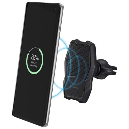 Магнитный держатель с беспроводной зарядкой Deppa Mage Qi