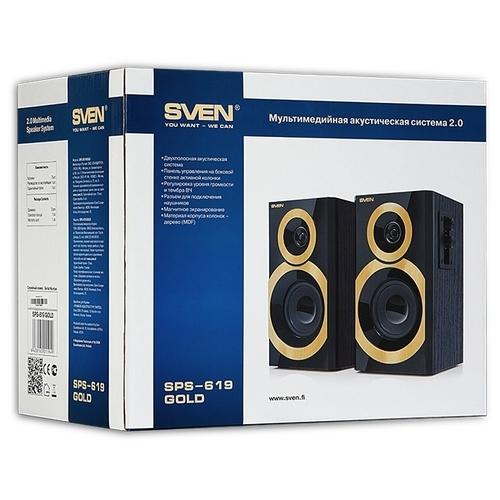 Компьютерная акустика SVEN SPS-619 GOLD