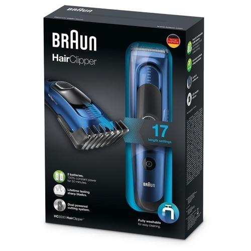 Машинка для стрижки Braun HC 5030