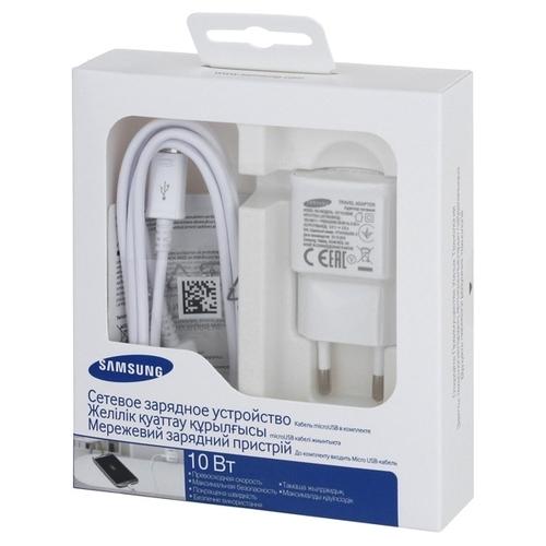 Сетевая зарядка Samsung EP-TA20EWEUGRU