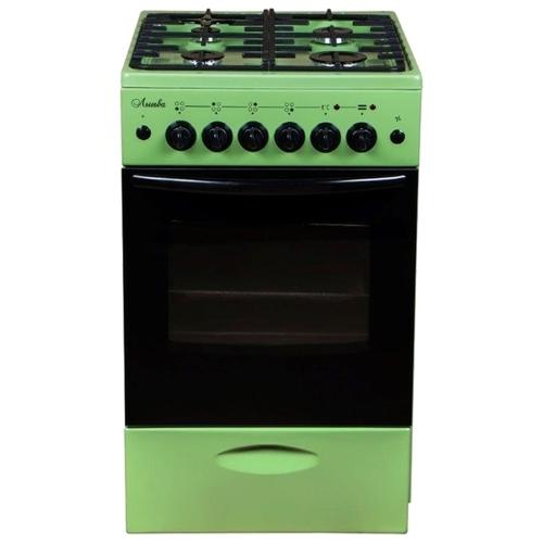 Плита Лысьва ЭГ 401 МС зеленый