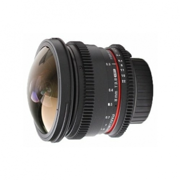 Объектив Samyang 8mm T3.8 AS IF UMC Fish-eye CS II VDSLR Nikon F""