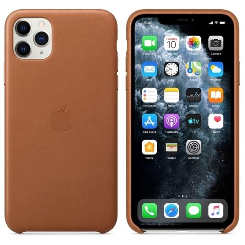 Чехол Apple кожаный для Apple iPhone 11 Pro Max