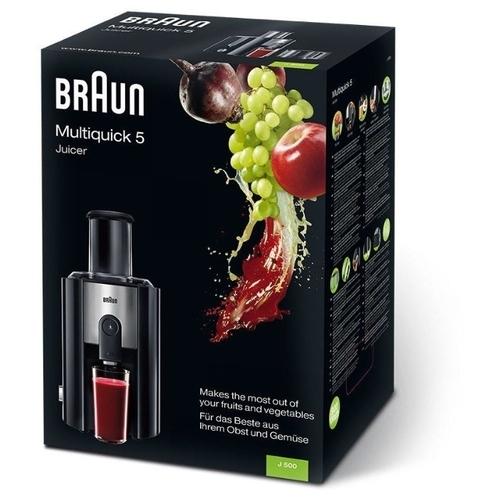Соковыжималка Braun J500 Multiquick 5