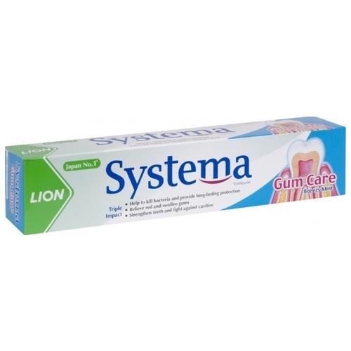 Зубная паста Lion Systema Прохладная мята