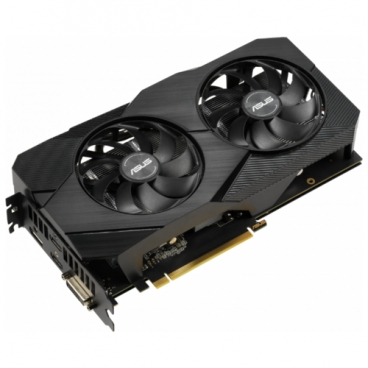 Видеокарта ASUS DUAL GeForce RTX 2060 1365MHz PCI-E 3.0 6144MB 14000MHz 192 bit DVI DisplayPort 2xHDMI HDCP EVO Advanced