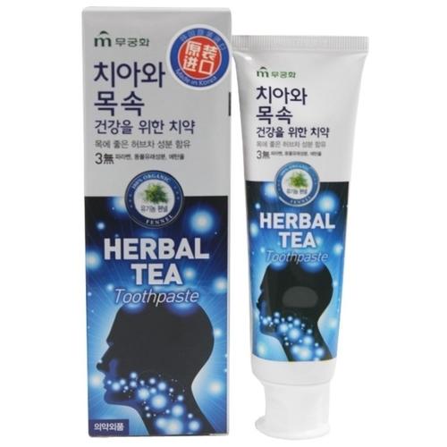 Зубная паста Mukunghwa Herbal tea, мята и травы