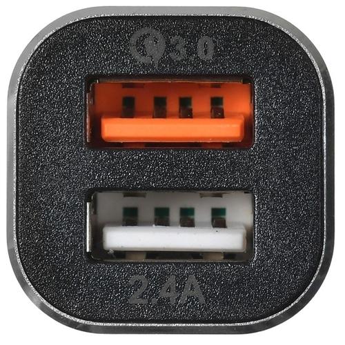 Автомобильная зарядка Digma DGCC-2U-QC3.0-BS