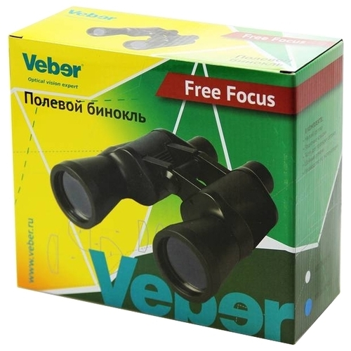 Бинокль Veber Free Focus БПШ 7x50