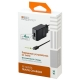 Сетевая зарядка INTERSTEP IS-TC-MCUS1QCRT-000B201 + micro USB