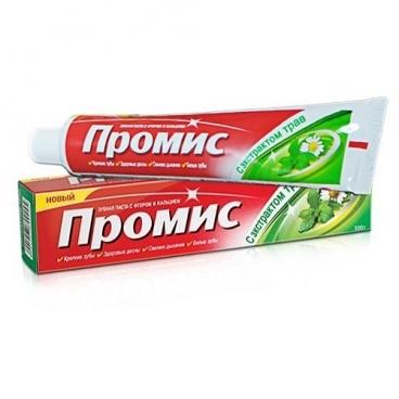 Зубная паста Dabur Промис с экстрактом трав