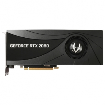 Видеокарта ZOTAC GeForce RTX 2080 1710MHz PCI-E 3.0 8192MB 14000MHz 256 bit HDMI HDCP Blower
