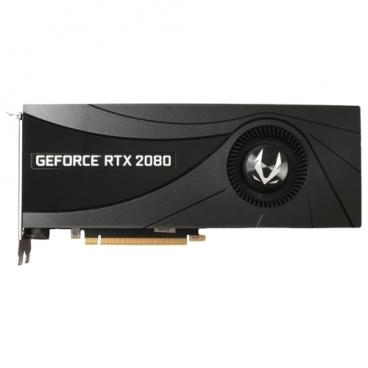 Видеокарта ZOTAC GeForce RTX 2080 1710MHz PCI-E 3.0 8192MB 14000MHz 256 bit HDMI HDCP Blower