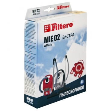 Filtero Мешки-пылесборники MIE 02 Экстра