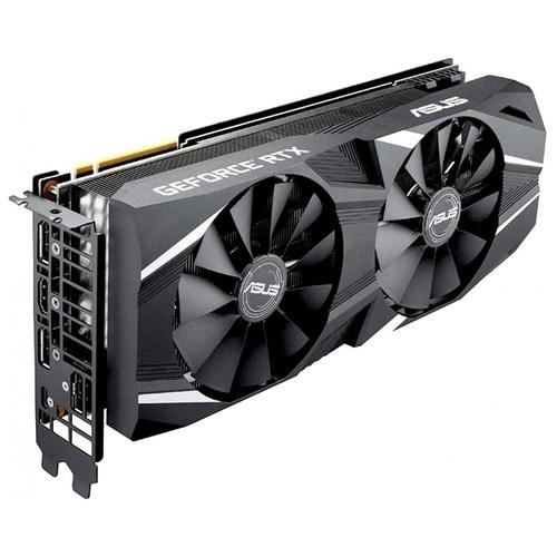 Видеокарта ASUS GeForce RTX 2070 1410MHz PCI-E 3.0 8192MB 14000MHz 256 bit HDMI HDCP Dual