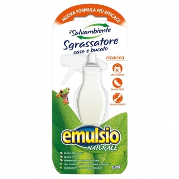 Обезжириватель-концентрат заправка спрея для удаления жира и грязи Naturale Emulsio