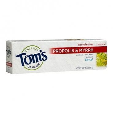 Зубной гель Tom's of Maine Propolis & Myrrh Фенхель