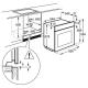 Электрический духовой шкаф AEG BER 455120 B