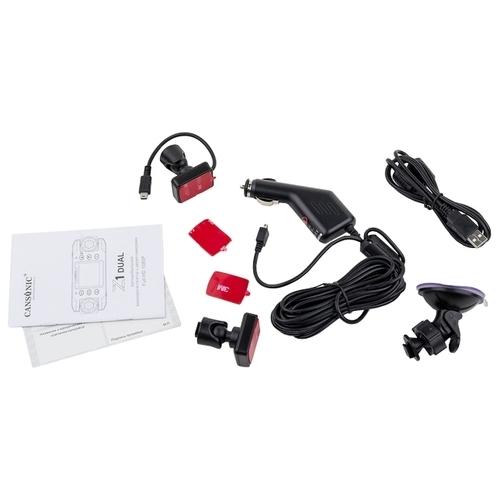 Видеорегистратор CANSONIC Z1 ZOOM GPS, 2 камеры, GPS, ГЛОНАСС