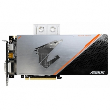 Видеокарта GIGABYTE GeForce GTX 1080 Ti 1632MHz PCI-E 3.0 11264MB 11448MHz 352 bit DVI 3xHDMI HDCP Aorus Waterforce WB Xtreme Edition