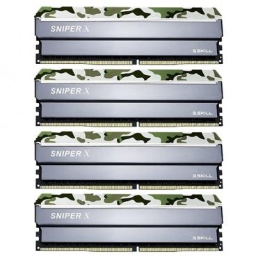 Оперативная память 8 ГБ 4 шт. G.SKILL F4-2400C17Q-32GSXF