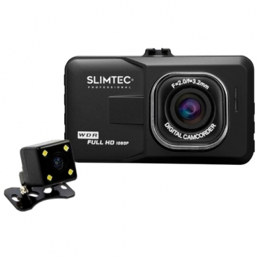 Видеорегистратор Slimtec Dual F2, 2 камеры