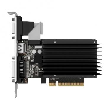 Видеокарта Palit GeForce GT 730 902Mhz PCI-E 2.0 2048Mb 1804Mhz 64 bit DVI HDMI HDCP Silent