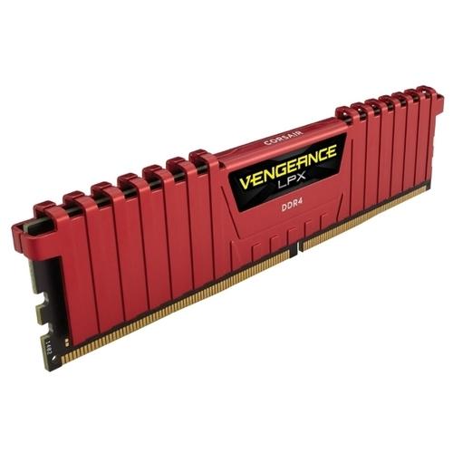 Оперативная память 8 ГБ 4 шт. Corsair CMK32GX4M4A2400C14