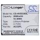 Аккумулятор Cameron Sino CS-AVS530SL для Archos 53 Platinum