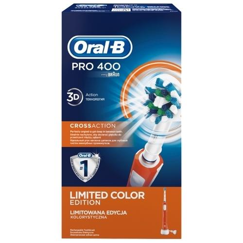Электрическая зубная щетка Oral-B Pro 400 CrossAction