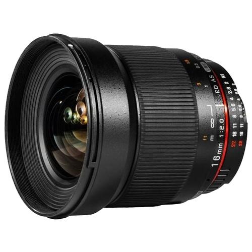 Объектив Samyang 16mm f/2.0 ED AS UMC CS Canon M