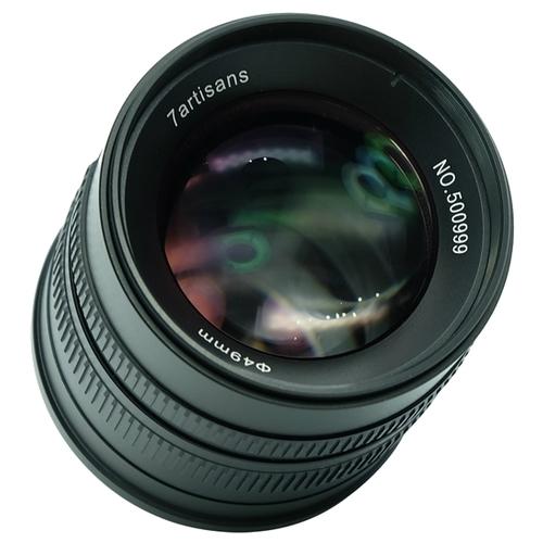 Объектив 7artisans 55mm f/1.4 Canon M