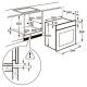 Электрический духовой шкаф Zanussi OPZB 4210 B