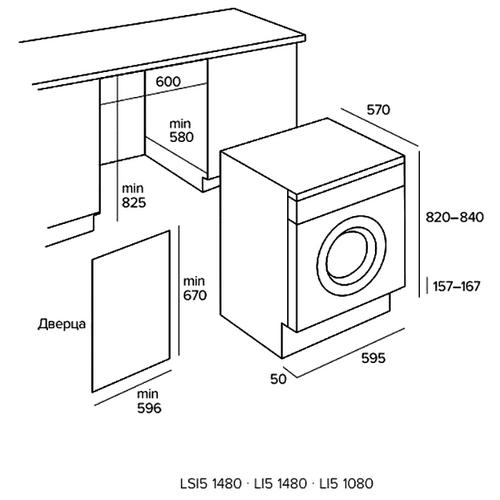 Стиральная машина TEKA LI5 1080 (EXP)