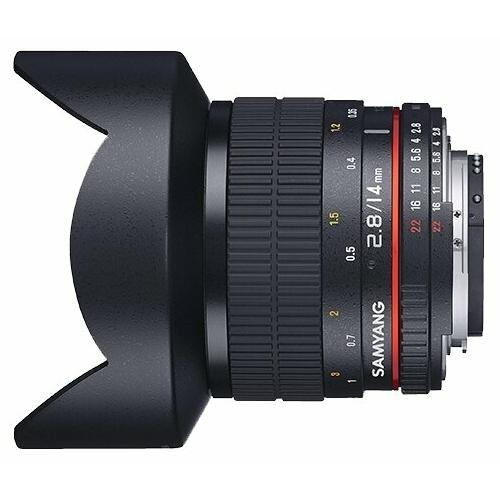 Объектив Samyang 14mm f/2.8 ED AS IF UMC Micro 4/3
