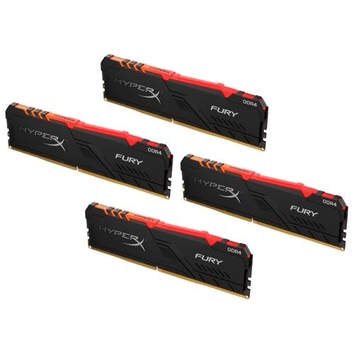 Оперативная память 16 ГБ 4 шт. HyperX HX432C16FB3AK4/64