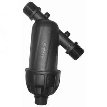 Фильтр механической очистки Azud Modular 100 130 Mkm муфтовый (НР/НР), со сливом