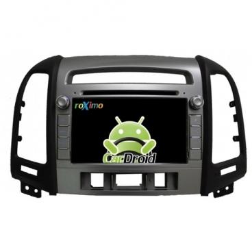 Автомагнитола ROXIMO CarDroid RD-2008D Hyundai SantaFe 2 (Android 8.0)