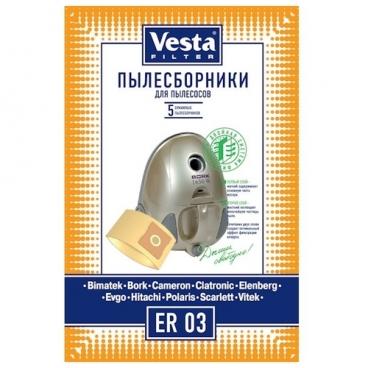 Vesta filter Бумажные пылесборники ER 03
