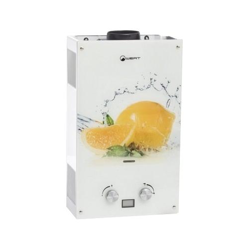Проточный газовый водонагреватель Wert 10EG Lemon