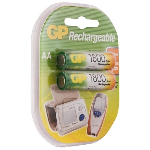 Аккумулятор Ni-Mh 1800 мА·ч GP Rechargeable 1800 Series AA