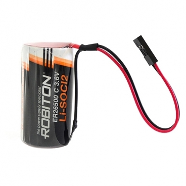 Батарейка ROBITON ER26500-DP с коннектором PH1