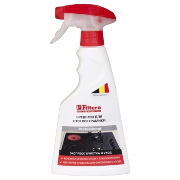 Средство для стеклокерамики Экспресс-очистка и уход (211) Filtero