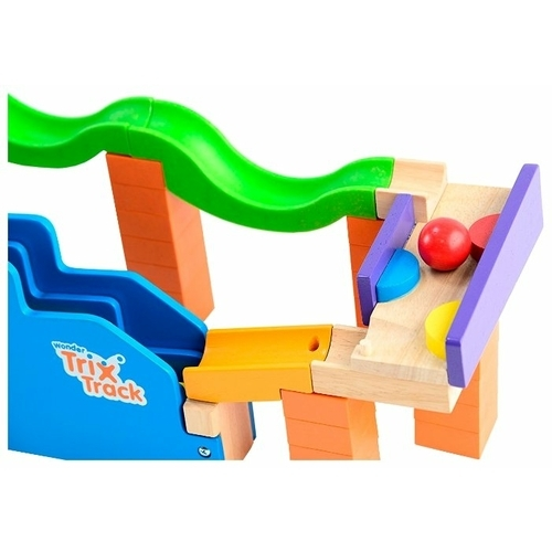 Динамический конструктор Wonderworld Trix Track WW-7009 Трек со ступеньками