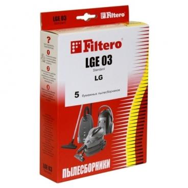 Filtero Мешки-пылесборники LGE 03 Standard