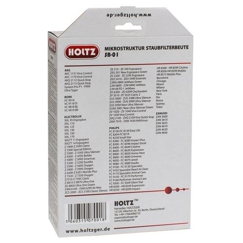 Holtz Синтетические пылесборники SB-01