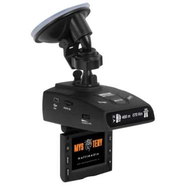 Видеорегистратор с радар-детектором Mystery MRD-935HDVSG, GPS