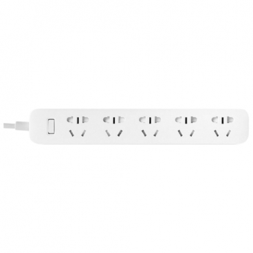 Удлинитель Xiaomi Mi Power Strip 5 (XMCXB03QM), белый, 2 м